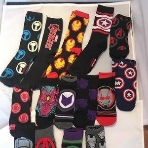 Underwear & Socks - Marvel Avengers 15 Pairs Size 6-12 New Opened